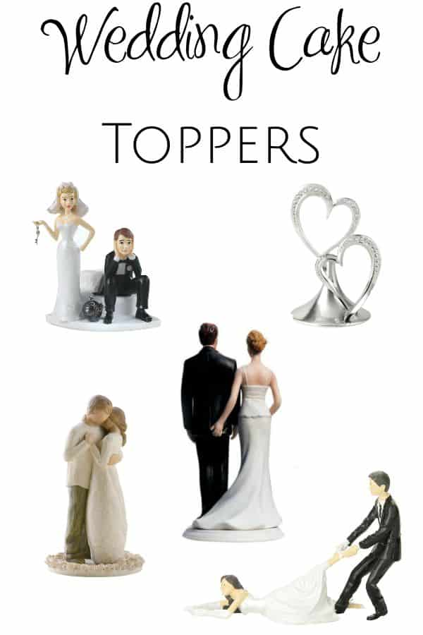 Cake is the best part of a wedding reception, and these amazing wedding cake toppers are just what you need to set yours apart! Check them out!