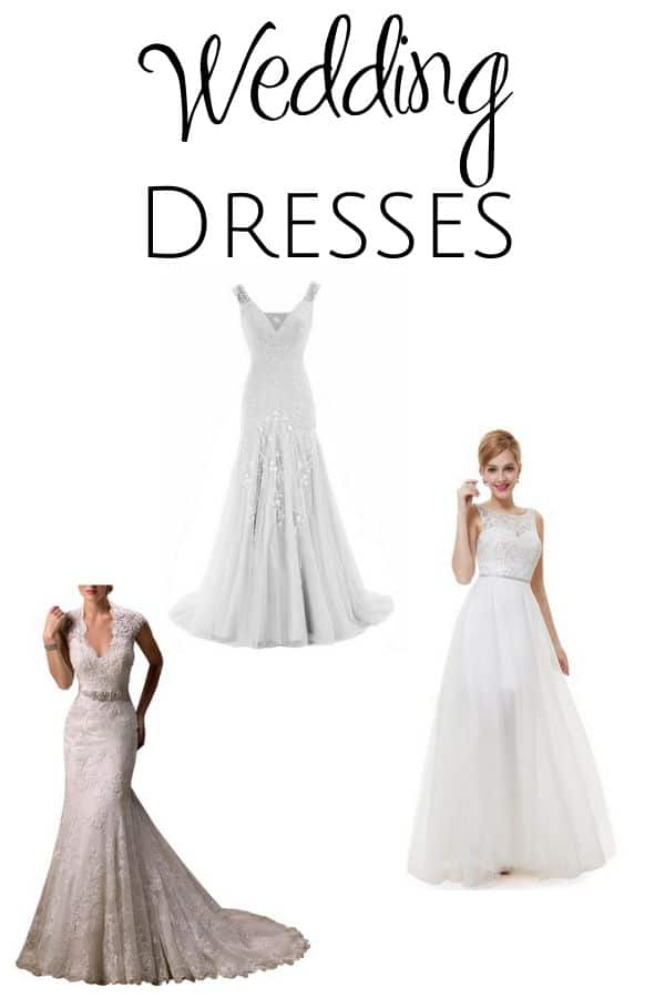 Find the wedding dress of your dreams with these six gorgeous options for every bride & every budget!