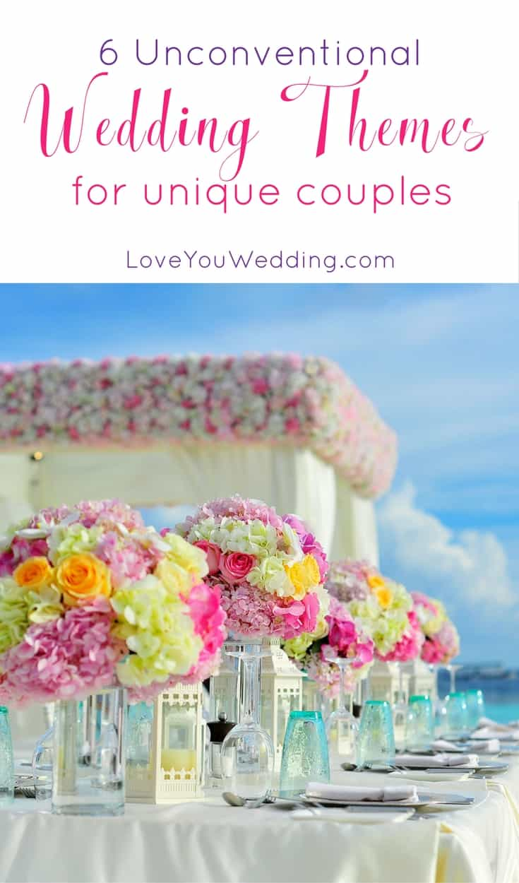 6 unconventional wedding themes for unique couples junglespirit Gallery