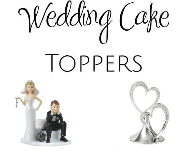 9 Fabulous Wedding Cake Toppers For Every Personality