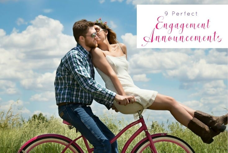 9 Perfect Engagement Announcements to Share Your Big News