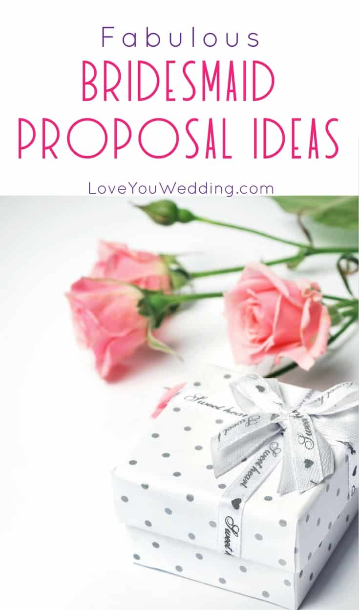 Pop the question to your best pals and make sure they want to say yes with these 5 fabulous bridesmaid proposal ideas! Check them out!