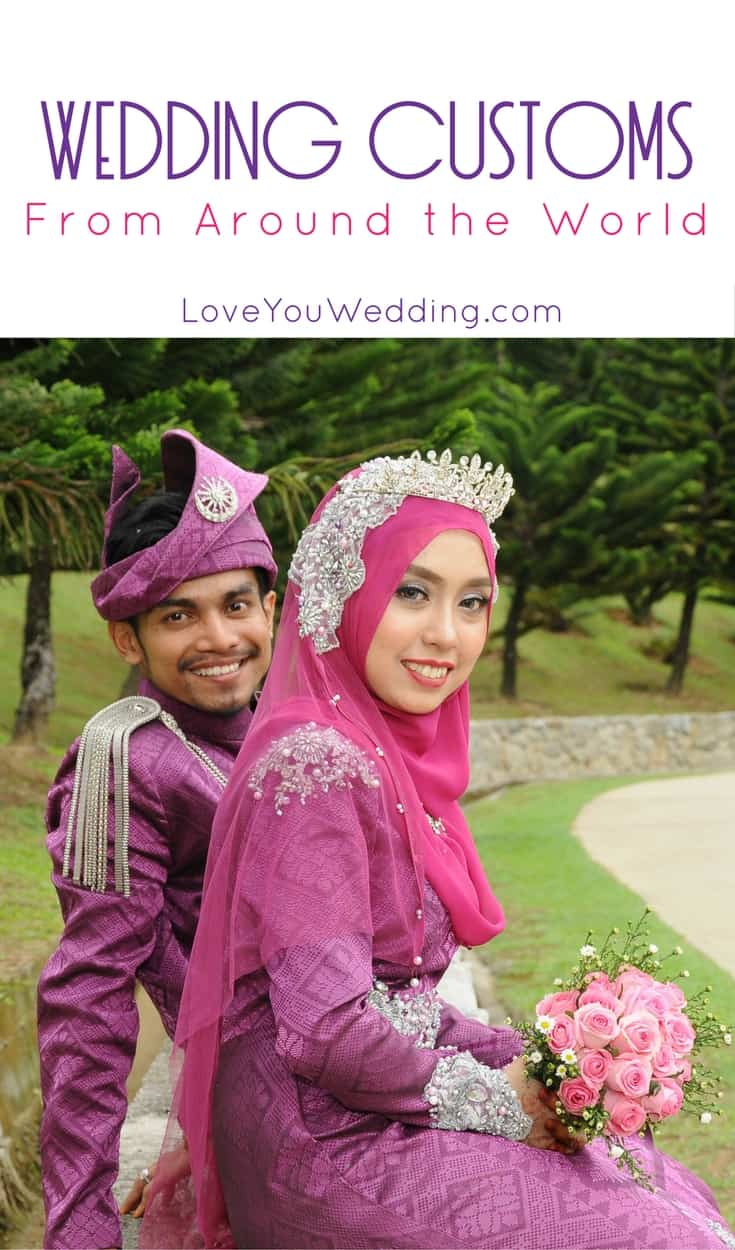 5 Beautiful Wedding Customs From Around The World - Love You Wedding