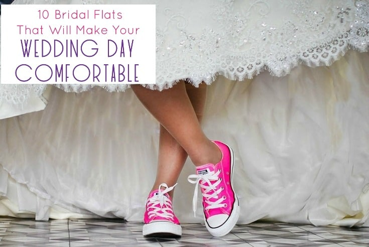 Bridal Flats That Will Make Your Wedding Day Comfortable