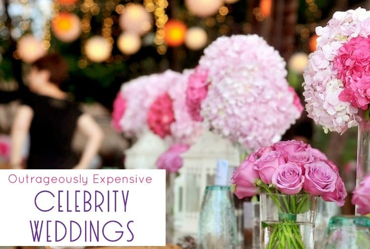 4 Outrageously Expensive Celebrity Weddings