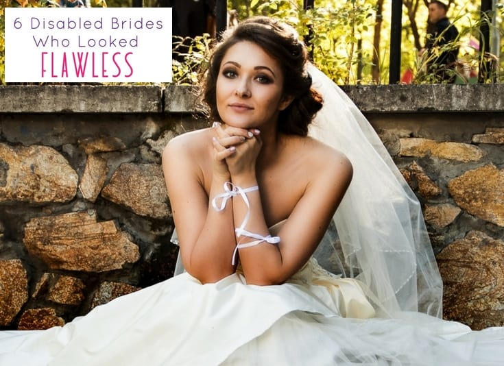 6 Disabled Brides Who Looked Flawless