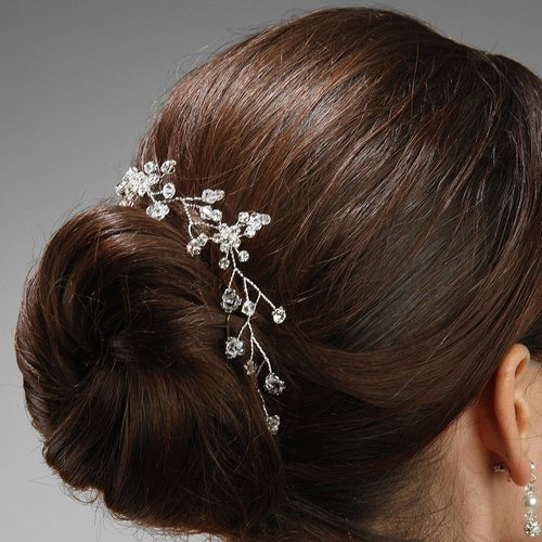 Mariell Crystal Bridal Hair Vine