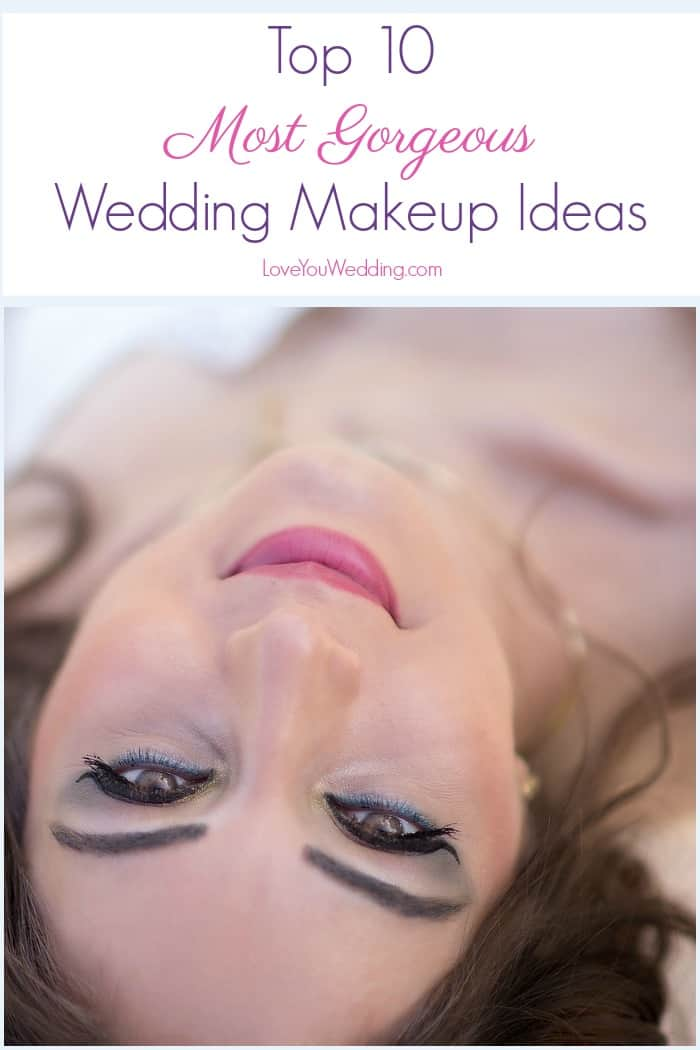 Need gorgeous wedding makeup ideas? We've got you covered! Wedding makeup should make a bride feel beautiful and flawless! Check out our favorite looks!