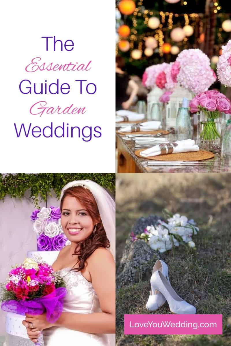 Don't you just love garden weddings? Today, we're going to talk about how to plan the most beautiful garden wedding, from what to wear to awesome favors!