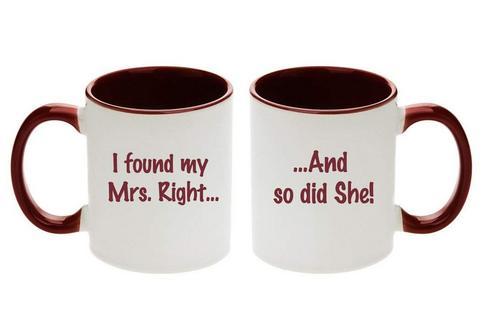 Best Lesbian Engagement Gifts Mugs
