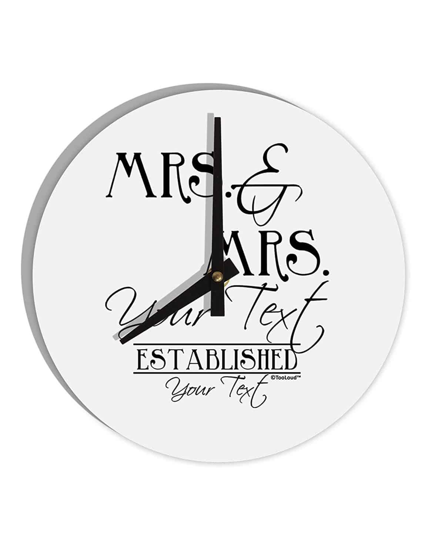 lesbian wedding gifts clock
