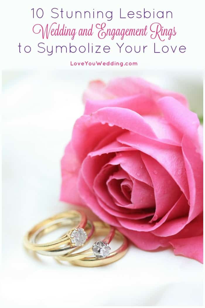 10 Stunning Lesbian Wedding And Engagement Rings Loveyouwedding