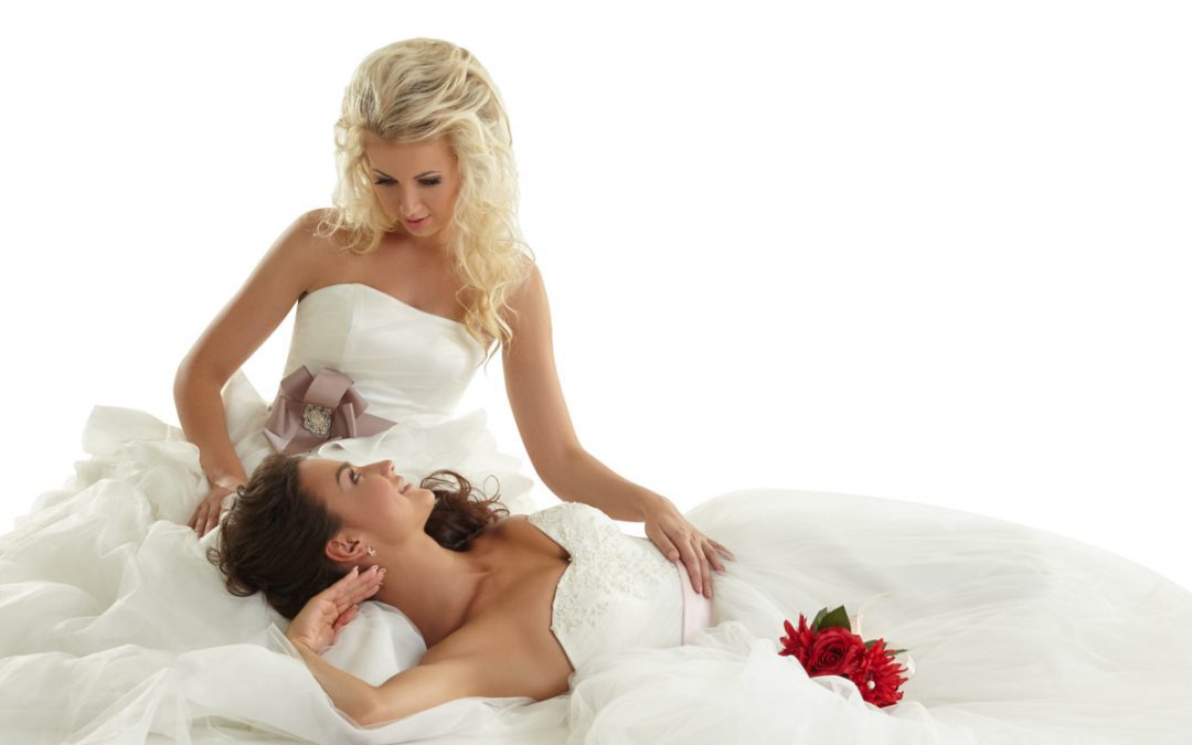 20 Beautiful Lesbian Brides That Will Inspire You