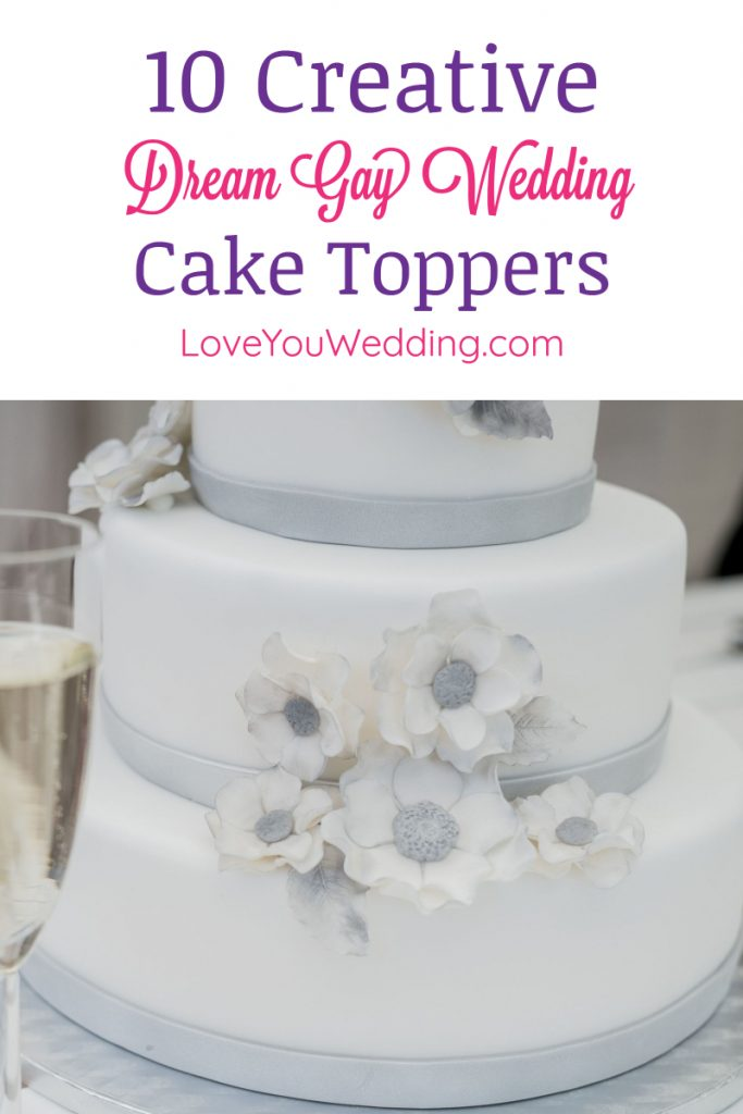 Make your big day extra special with dream gay wedding cake toppers! Check out our top 10 favorite most creative & beautiful LGBTQ+ toppers.