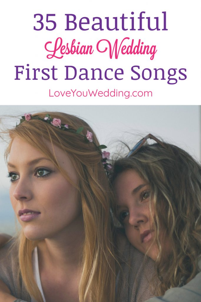 If you're searching for the best lesbian wedding first dance songs, check out our list of the most beautiful gender-neutral love songs to play on your big day.