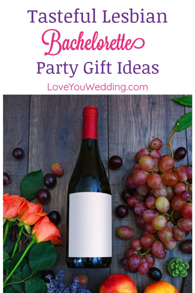 Looking for the best bachelorette party gifts ever for a lesbian wedding? Whether you're planning a tasteful party or something naughty, we've got you covered!