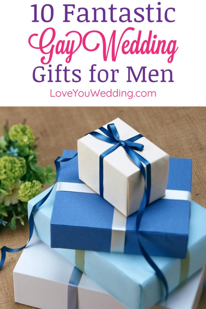 Looking for some great gay wedding gift ideas for your two favorite grooms? You'll love our top 10 picks! We've got everything from personalized & meaningful to fun yet functional. Check it out!