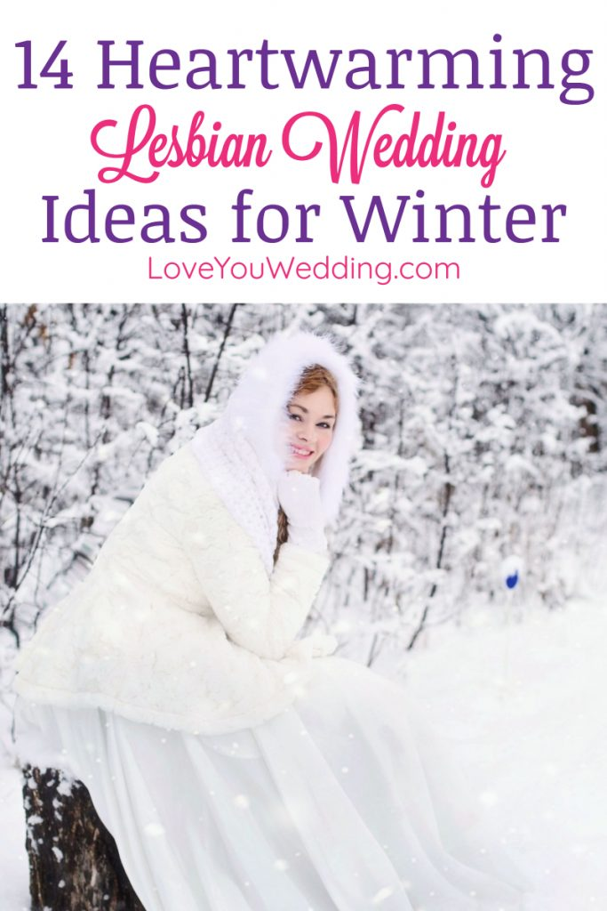 Get ready for the best lesbian winter wedding ideas that will warm the hearts of all your guests! From amazing lesbian wedding decorations to stunning winter wedding dresses, we've got you covered!