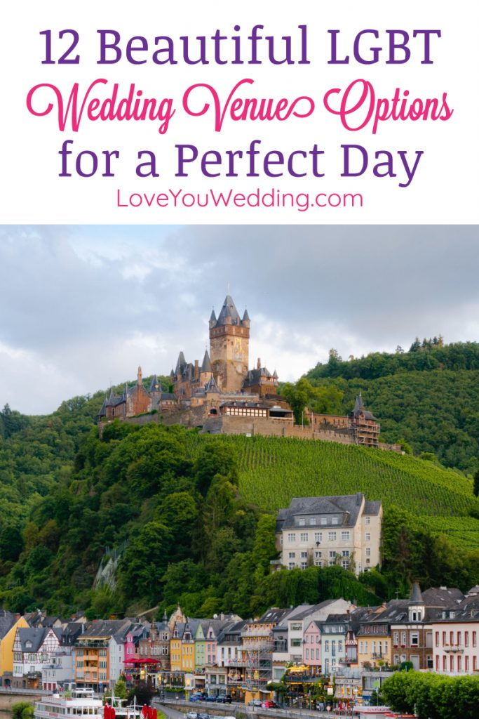 When it comes to great wedding venue options to consider for your LGBT wedding, there's definitely no shortage of ideas! Check out 12 we adore!