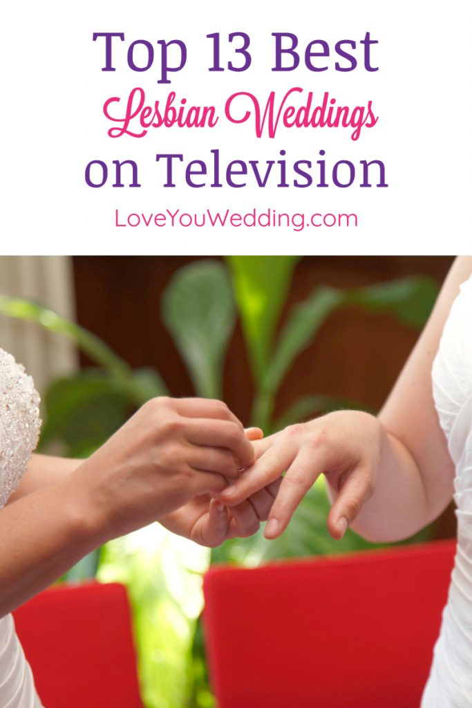 Looking for the 1st lesbian wedding on TV? How about the first on a kids show? We've got you covered with the best lesbian weddings on television!