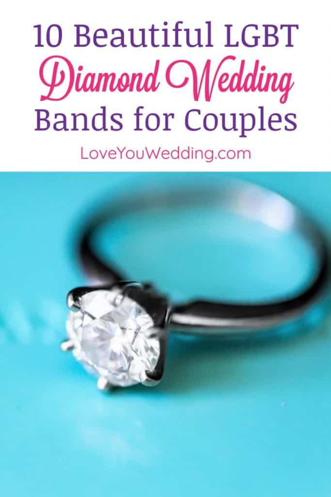 10 Beautiful Lgbt Diamond Wedding Rings Love You Wedding