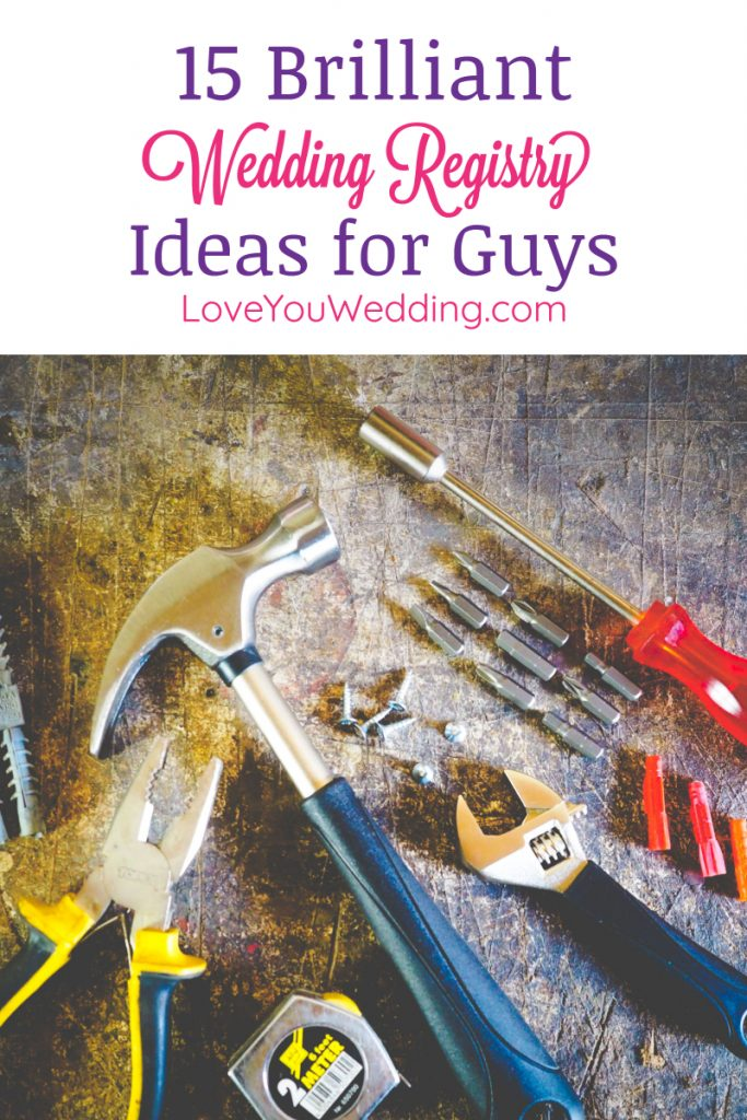 Planning a gay wedding with two grooms? Just want to make sure you both get what you want? Either way, you'll love these wedding registry ideas for guys!