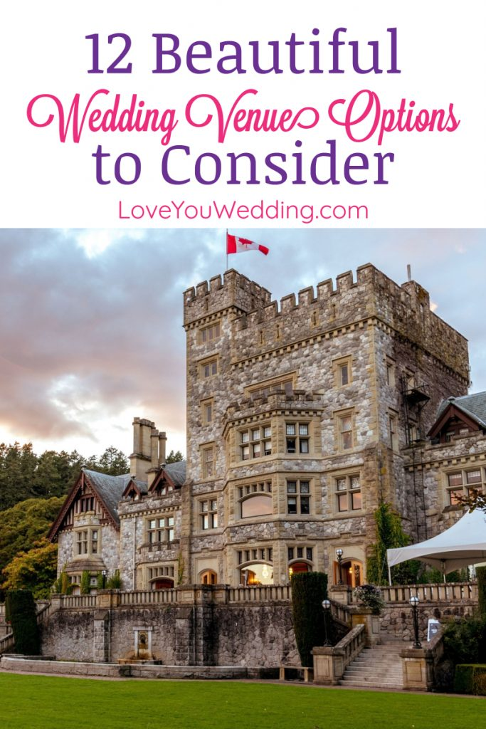 When it comes to great wedding venue options to consider for your big day, there's definitely no shortage of ideas! Check out 12 we adore!