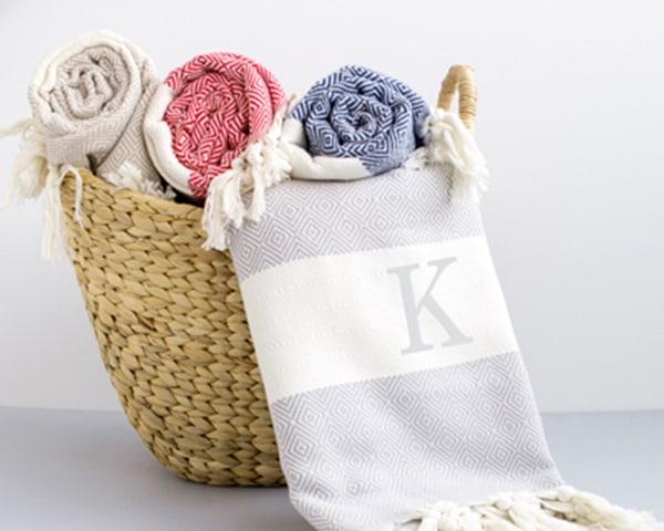 Personalized Turkish Throw Blanket