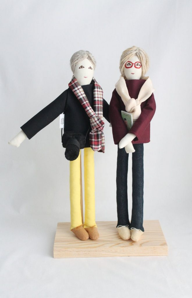 Personalized Couple Dolls