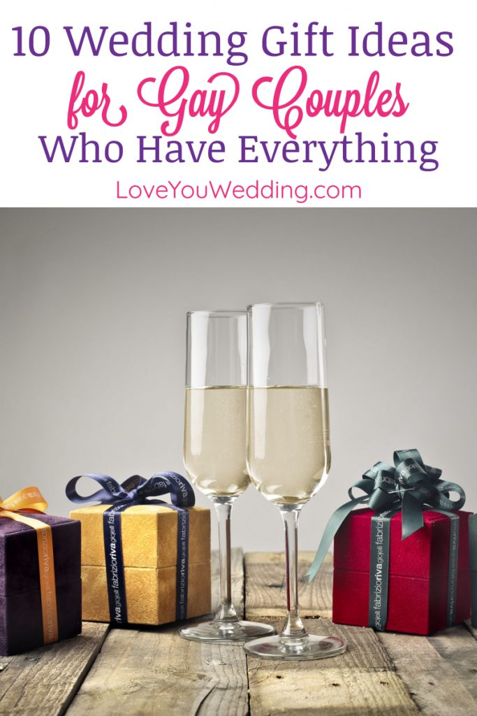 If you're hunting for the perfect wedding gift ideas for gay couples who have everything, you'll find it here!