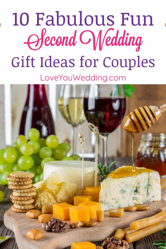 Looking for fun second wedding gift ideas? Wondering if you even should give a gift? Read on to find out, then check out our top 10 favorite ideas!