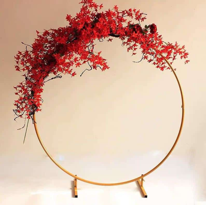 Buy this gorgeous wedding arch on Etsy