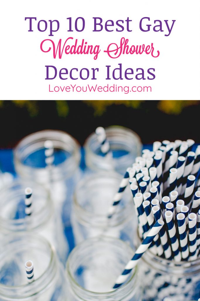 Want to throw an epic wedding shower for two grooms that they're remember for the rest of their lives? Read on for decor tips, gift ideas & more!