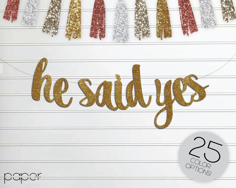 he said yes gay wedding banner
