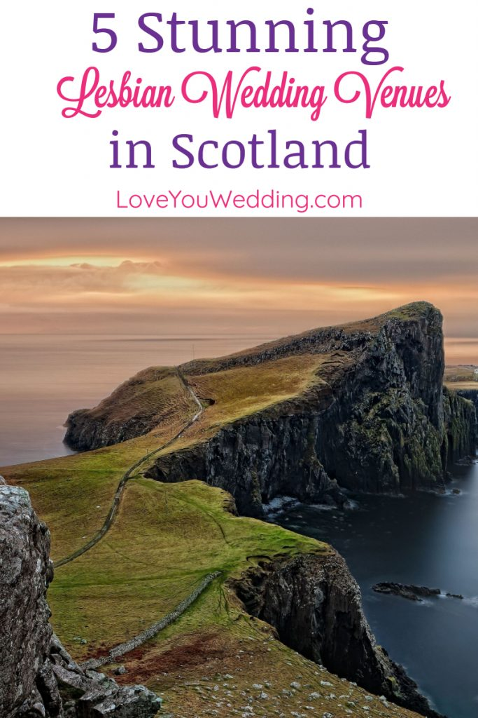 From Gothic buildings in Scotland to historical royal homes in England, if you're looking for the best lesbian wedding venues in the UK, check out our list!