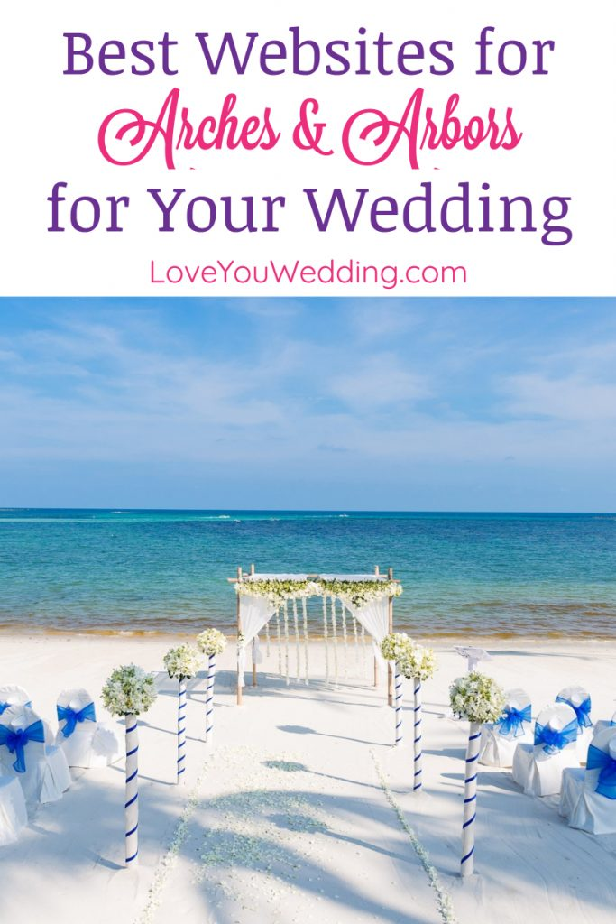 Looking for the best places to buy a wedding arch? Check out our favorite online retailers, then keep reading for some great recommendations!