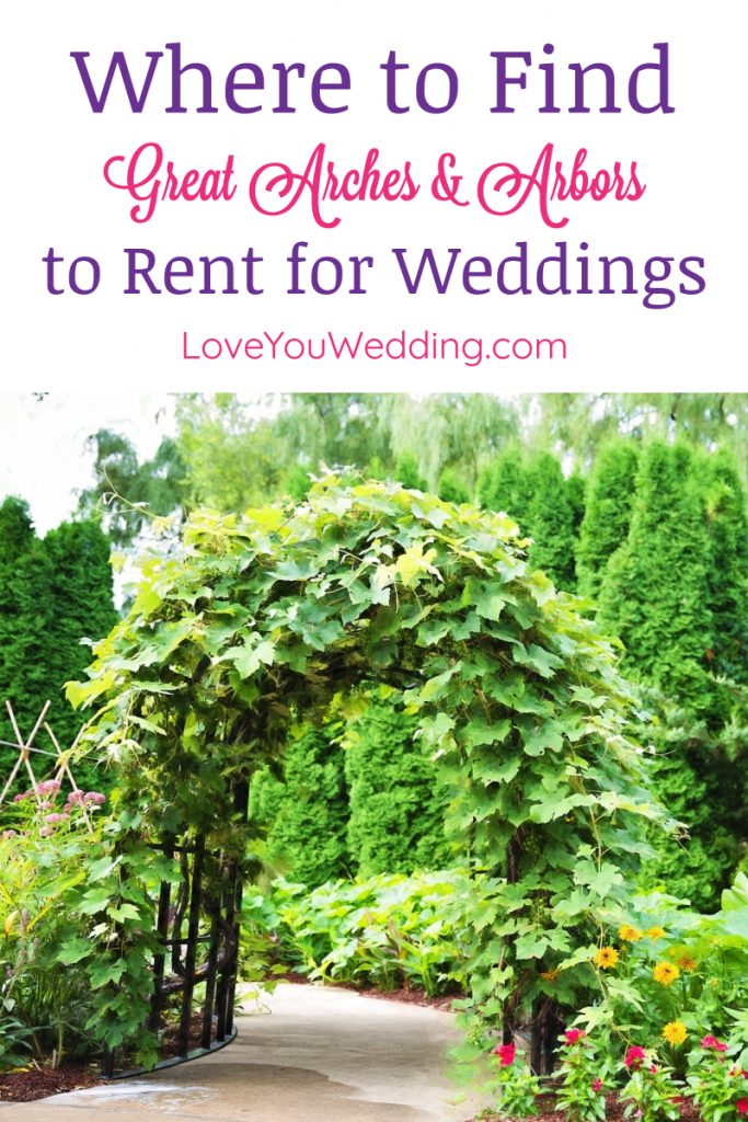 Having a hard time finding beautiful wedding arches for rent? Let us help you out.  Check out our favorite rentals & learn how to find more near you!