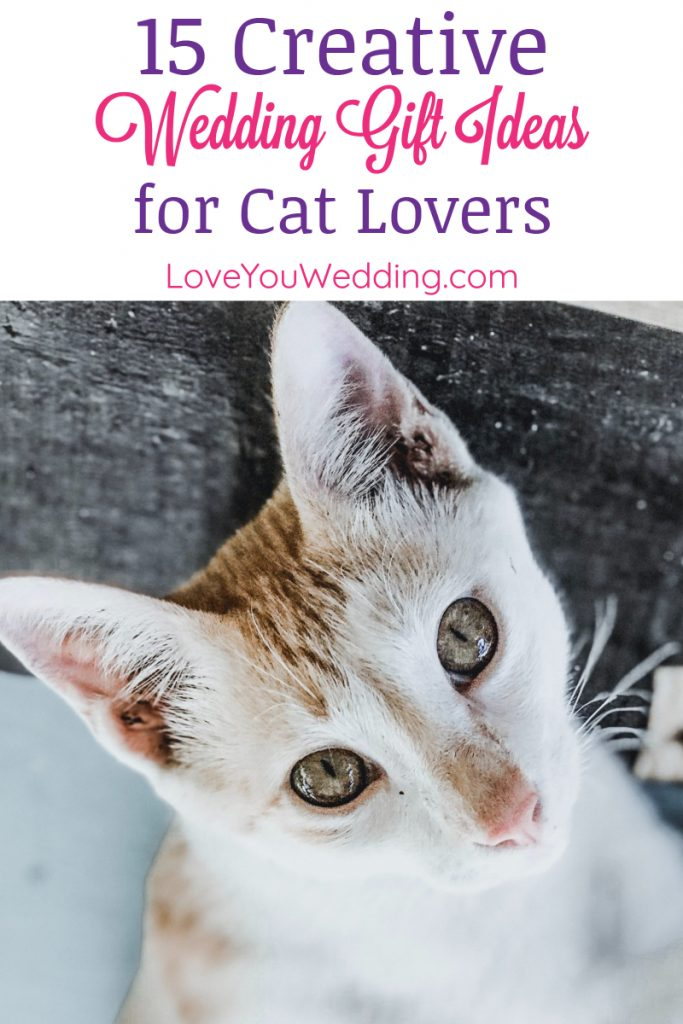 Looking for a unique present for a couple that absolutely adores their feline? Check out our favorite wedding gift ideas for cat lovers!