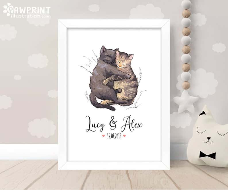15 Creative Wedding Gift Ideas For Cat Lovers