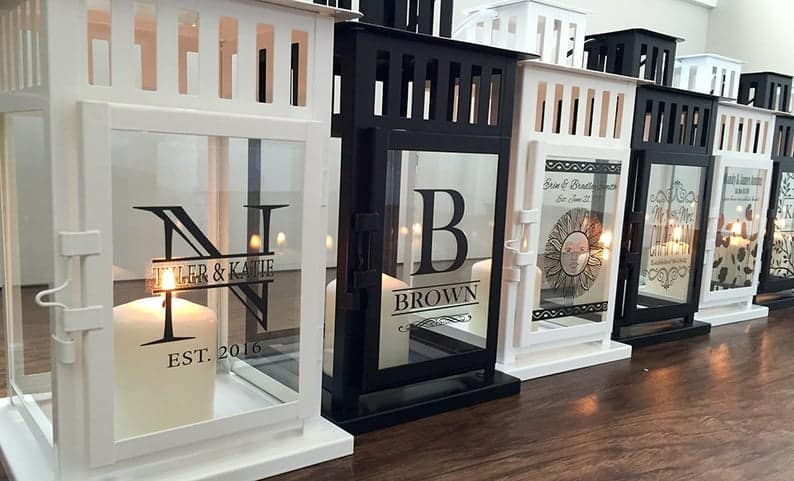 wedding shower gift ideas for gay couple lanterns