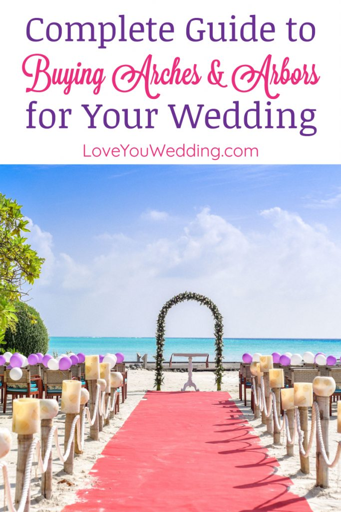 Wondering where to buy a wedding arch? Check out our huge guide, complete with our favorite arches & arbors from simple to elaborate!