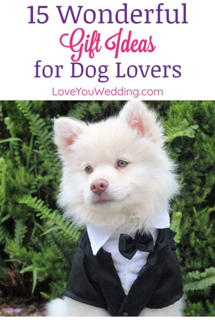 If you're looking for some fantastic wedding gift ideas for dog lovers, I've got you covered! Check out 15 I adore!