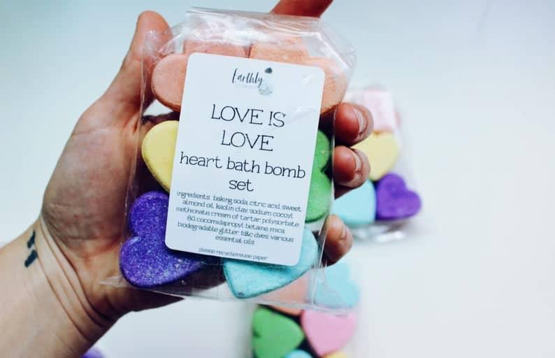 Love is Love Bath Bomb Gift Set