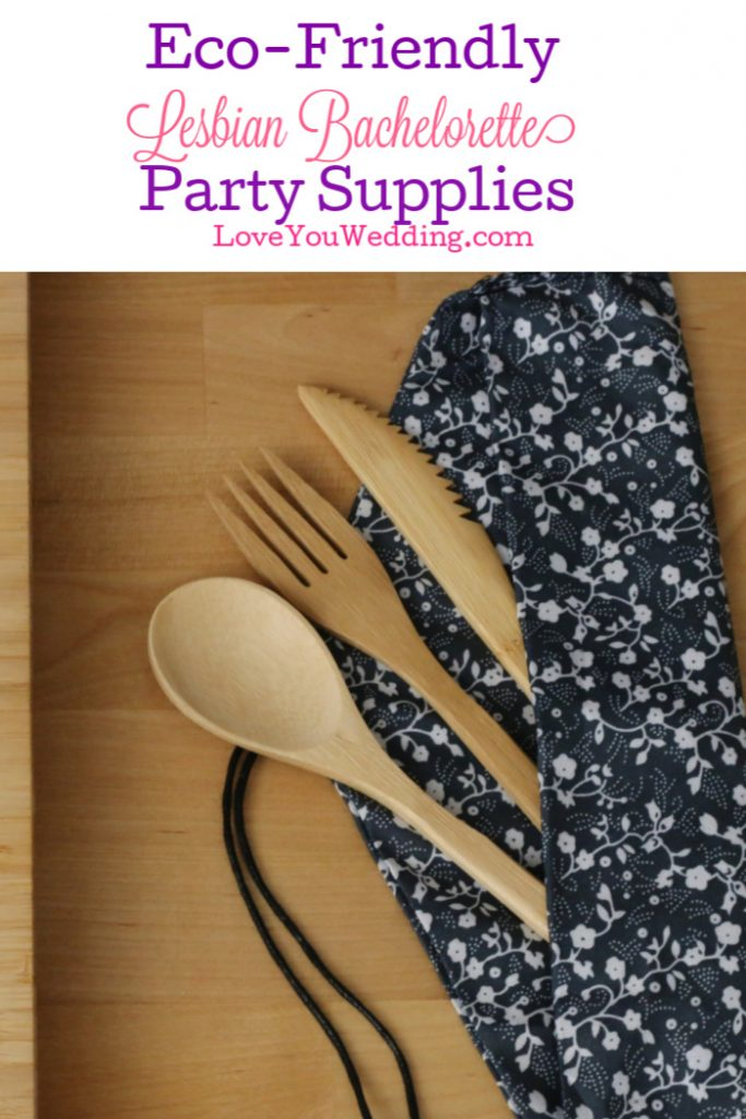 Want to throw a low-waste lesbian bachelorette party for your favorite bride-to-be? Check out these ideas that cover everything from supplies to favors!