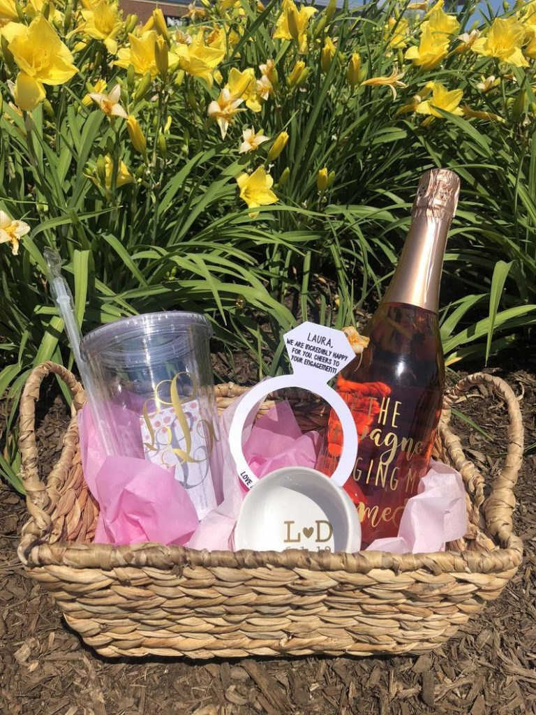 Engagement Gift Baskets for Lesbian Couples