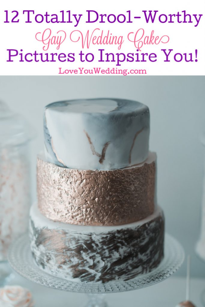 These gay wedding cake pictures are so incredible, they make us wish we were invited to the party! Take a look and get inspired for your own LGBTQ nuptials!