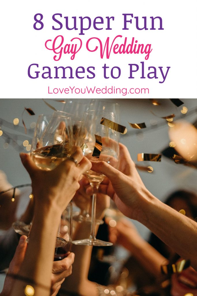 Whether it's your wedding or you're planning someone else's, these 8 gay wedding games are definitely going to spice up the atmosphere.