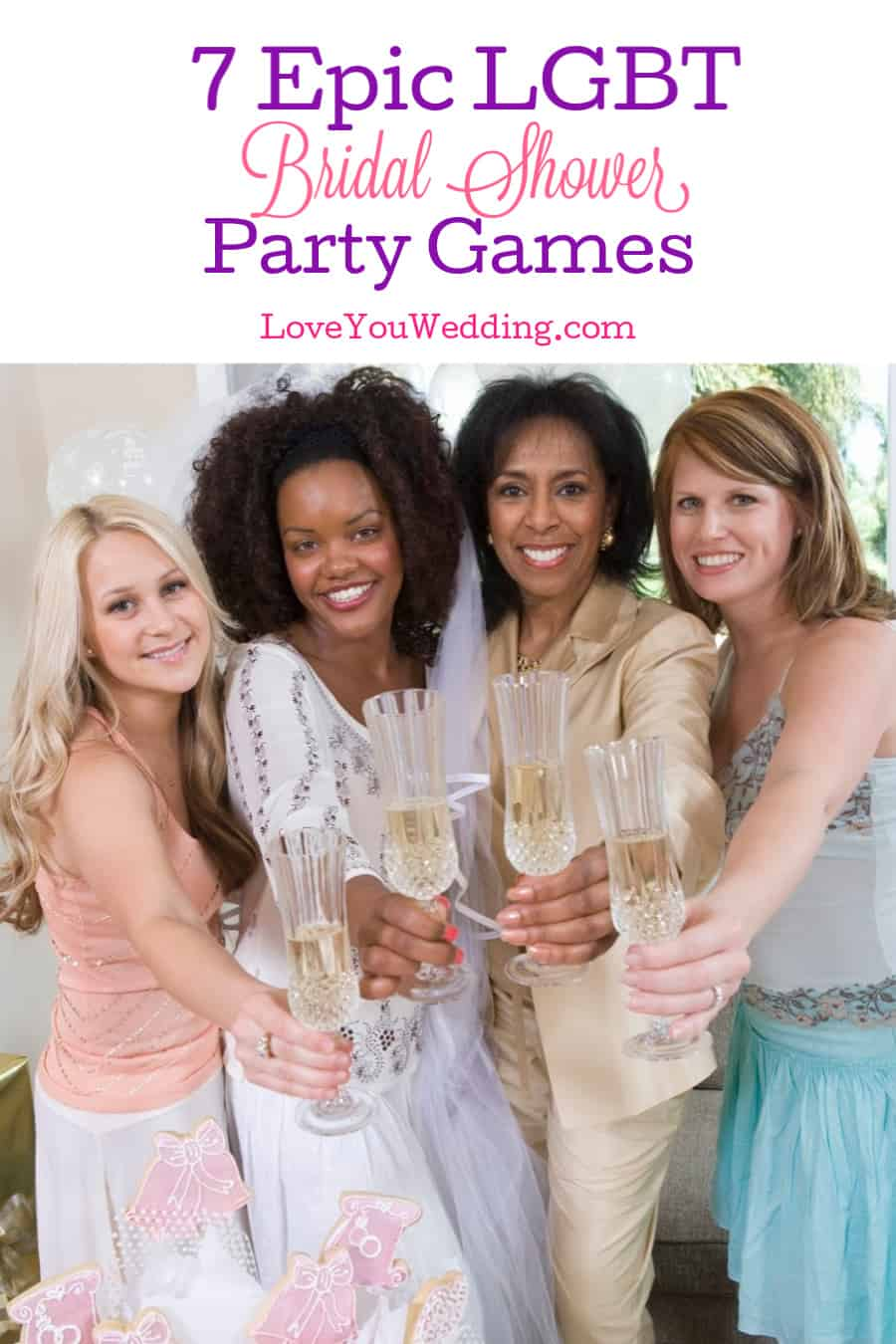 All these LGBT bridal shower games will definitely give you that element of surprise you wished for! The party can get started!