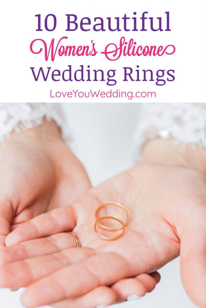 Women's silicone wedding rings are all the rage right now, and for good reason! Find out why, plus check out 10 we love!