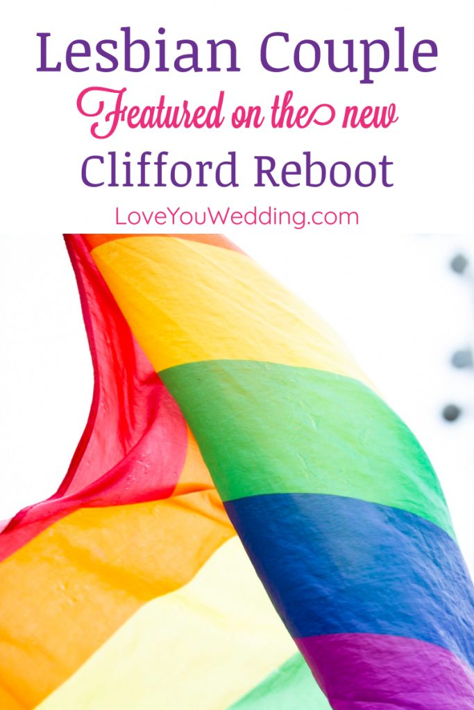 The news is in and we have a lesbian couple starring in 'Clifford, The Big Red Dog'! Read our story to find out about this event!